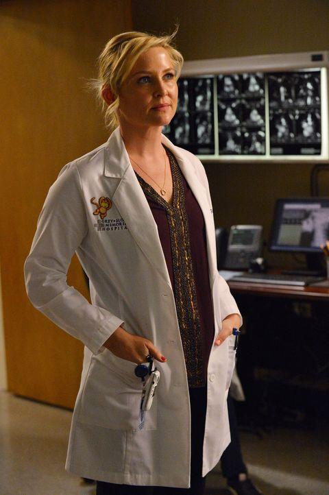 Arizona (Jessica Capshaw) bekommt eine neue Beinprothese, mit der sie sich zum ersten Mal seit langer Zeit selbstbewusster fühlt und High Heels trag... - Bildquelle: ABC Studios