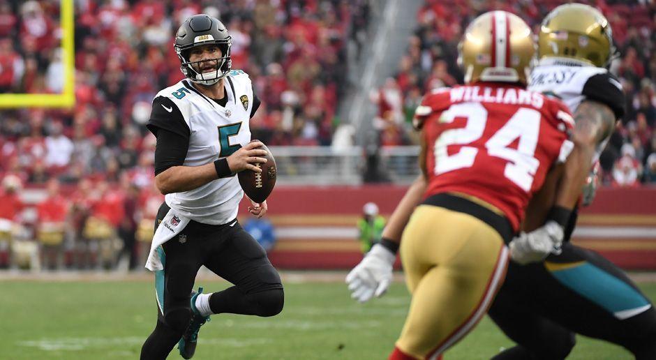 9. Blake Bortles (Jacksonville Jaguars) - Bildquelle: 2017 Getty Images