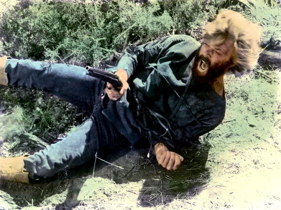 Sein blutiger Rachefeldzug gegen die Indianer macht Jeremiah Johnson (Robert Redford) zu einer Legende. - Bildquelle: Warner Bros. Pictures