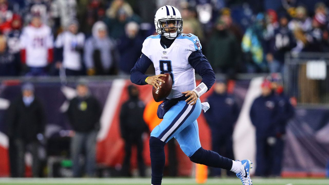 8. Marcus Mariota (Tennessee Titans) - Bildquelle: 2018 Getty Images