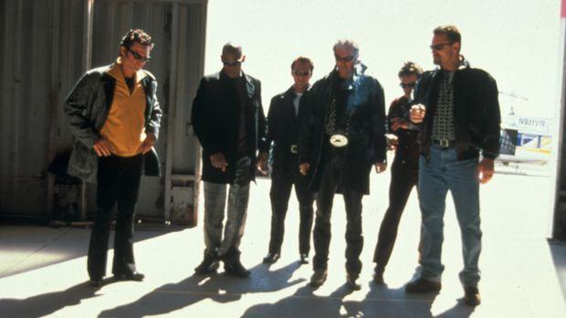 Wollen 3,2 Millionen Dollar rauben: (v.l.n.r.) Michael (Kurt Russell), Frankl...