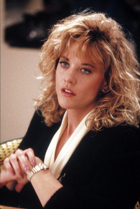 Sally (Meg Ryan) glaubt an Freundschaft zwischen Mann und Frau. Doch schon balod wird sie eines Besseren belehrt? - Bildquelle: Castle Rock Entertainment