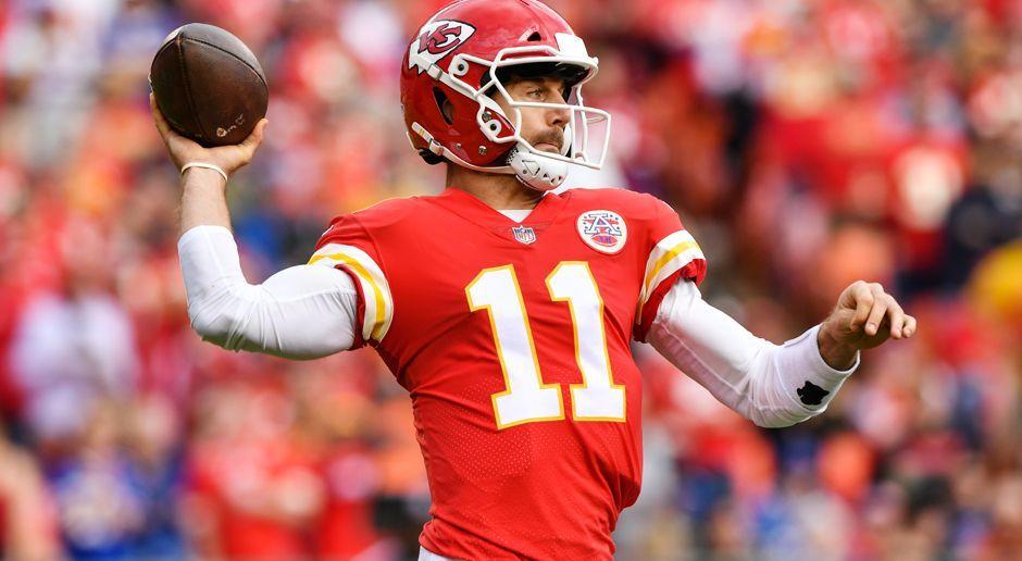 6. Alex Smith (Kansas City Chiefs) - Bildquelle: 2017 Getty Images