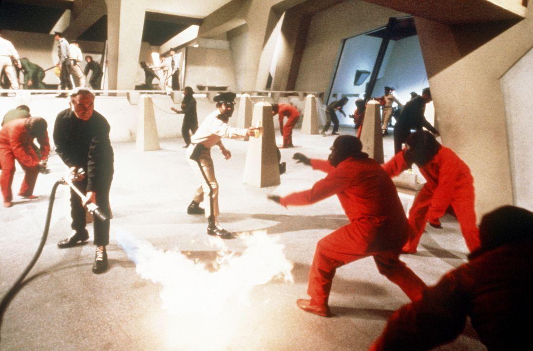 """Mit grausamen Methoden werden die Affen in """"Ausbildungslagern"""" zu willigen Sklaven konditioniert ... - Bildquelle: Twentieth Century-Fox Film Corporation"""