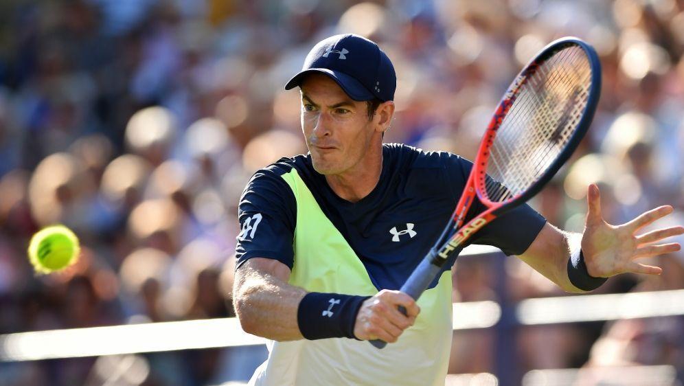 Andy Murray feiert bei seinem Comeback einen klaren Sieg - Bildquelle: AFPSIDGLYN KIRK
