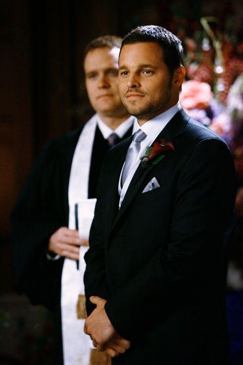 Wartet gespannt auf seine Braut: Alex (Justin Chambers) ... - Bildquelle: Touchstone Television