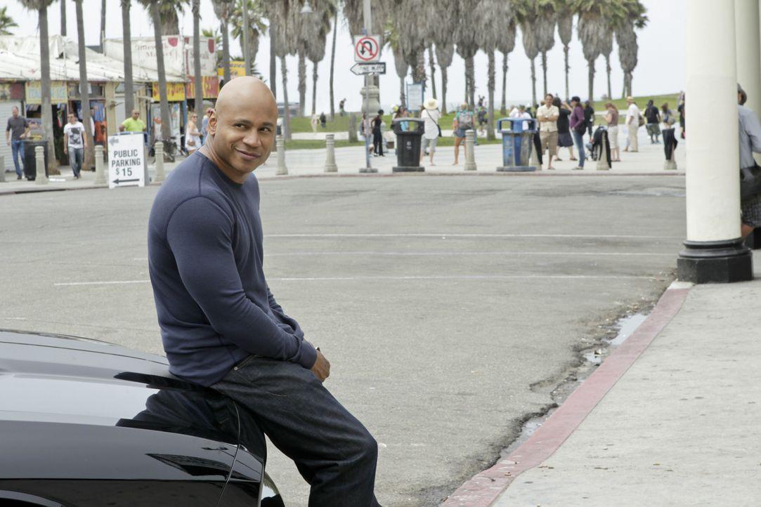 Ermittelt undercover im sonnigen Kalifornien, um die nationale Sicherheit zu wahren: Sam (LL Cool J) ... - Bildquelle: CBS Studios Inc. All Rights Reserved.