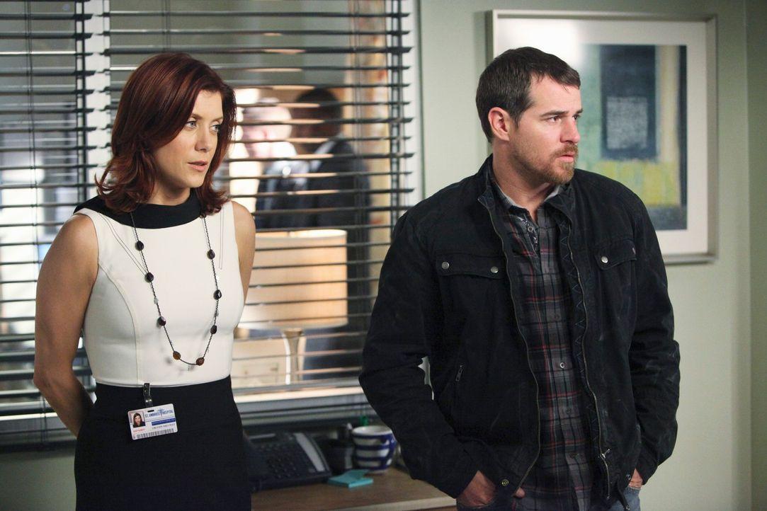 Während Eddie Lindy (Derek Phillips, r.) und Addison (Kate Walsh, l.) gespannt sind, ob Dr. Ginsberg Kayla aus dem Koma wecken kann, hält Charlott... - Bildquelle: ABC Studios