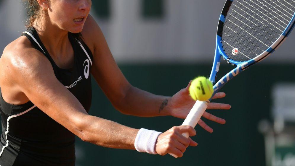 Julia Görges scheidet in England im Halbfinale aus - Bildquelle: AFPSIDCHRISTOPHE ARCHAMBAULT