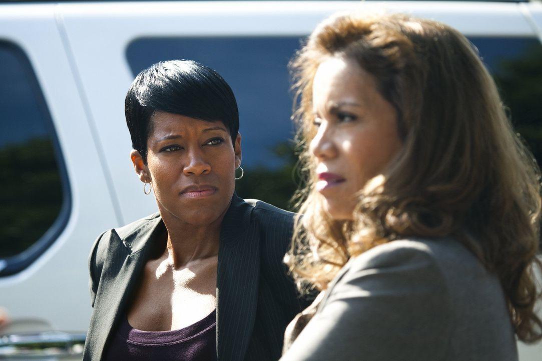 Werden sie sich doch noch zusammenreuafen, oder bleibt die Zusammenarbeit zwischen Detective Lydia Adams (Regina King, l.) und  Detective Josie Ocho...