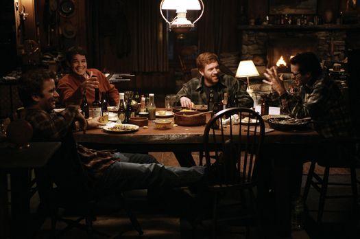Dreamcatcher - Vier gealterte Jugendfreunde aus Maine, (v.l.n.r.) Henry (Thom...