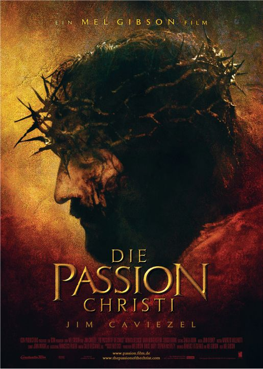 Die Passion Christi - Plakatmotiv - Bildquelle: Icon Film Distribution Ltd.