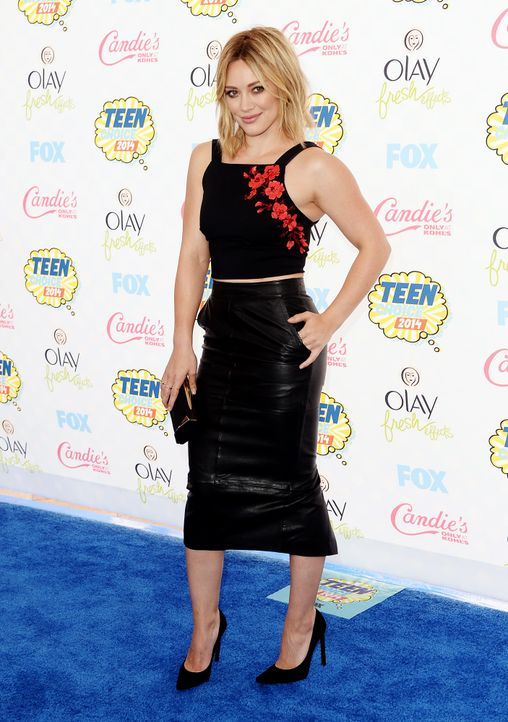 Teen-Choice-Awards-Hilary-Duff-140810-2-getty-AFP - Bildquelle: getty-AFP