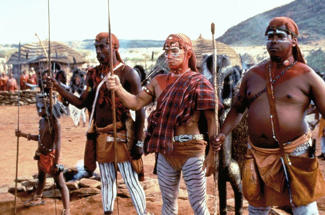 Ereignisreiche Tage warten auf den unter Gedächtnisschwund leidenden Whoami (Jackie Chan, M.) ... - Bildquelle: Columbia TriStar Film