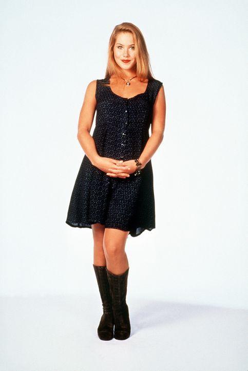 """(9. Staffel) - Zu schön, um klug zu sein: Kelly """"Dumpfbacke"""" Bundy (Christina Applegate) macht allen blonden Dummchen alle Ehre. - Bildquelle: Sony Pictures Television International. All Rights Reserved."""