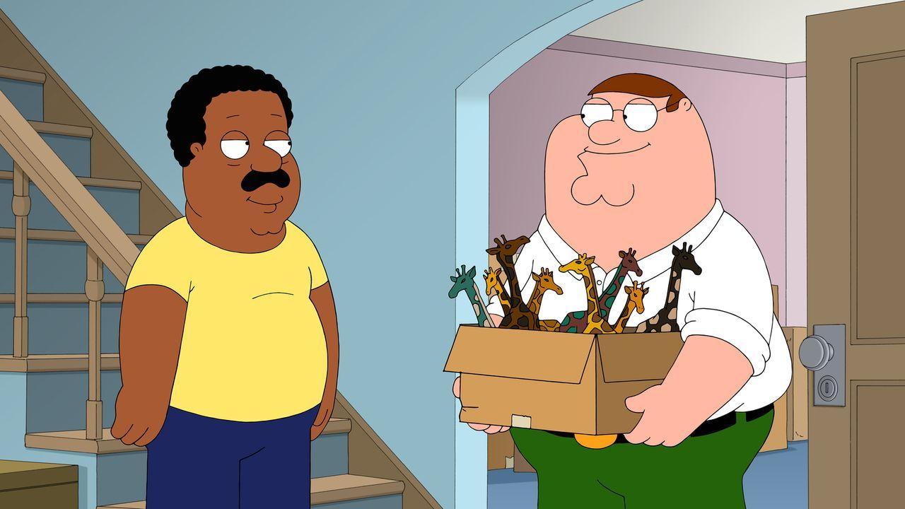 Nachdem Clevelands (l.) Show abgesetzt wird, kommt er wieder zurück zu Peter (r.) und den anderen Freunden ... - Bildquelle: 2014 Twentieth Century Fox Film Corporation. All rights reserved.
