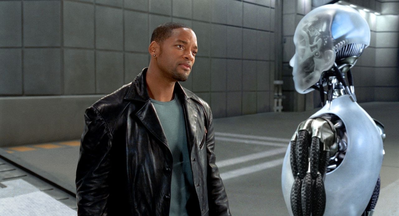 Chicago, 2035. Als in den Labors des High-Tech-Konzerns US Robotics ein Mord passiert, hat der Cop (Will Smith), der schon lange die Perfektion der... - Bildquelle: 2004 Twentieth Century Fox Film Corporation. All rights reserved.