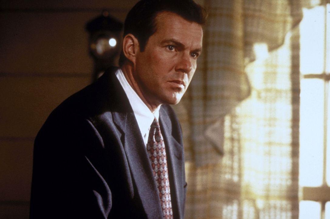Über Jahre hinweg hat FBI-Agent Frank LaCrosse (Dennis Quaid) die Spur eines Massenmörders verfolgt. Als der Mörder Franks Sohn entführt, geht er au... - Bildquelle: Paramount Pictures