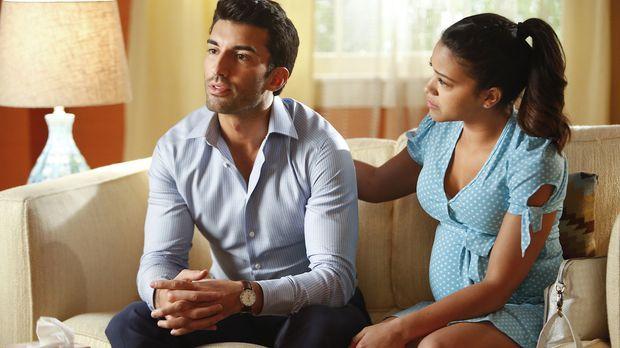 Versucht verzweifelt, die Probleme mit Rafael (Justin Baldoni, l.) zu lösen:...