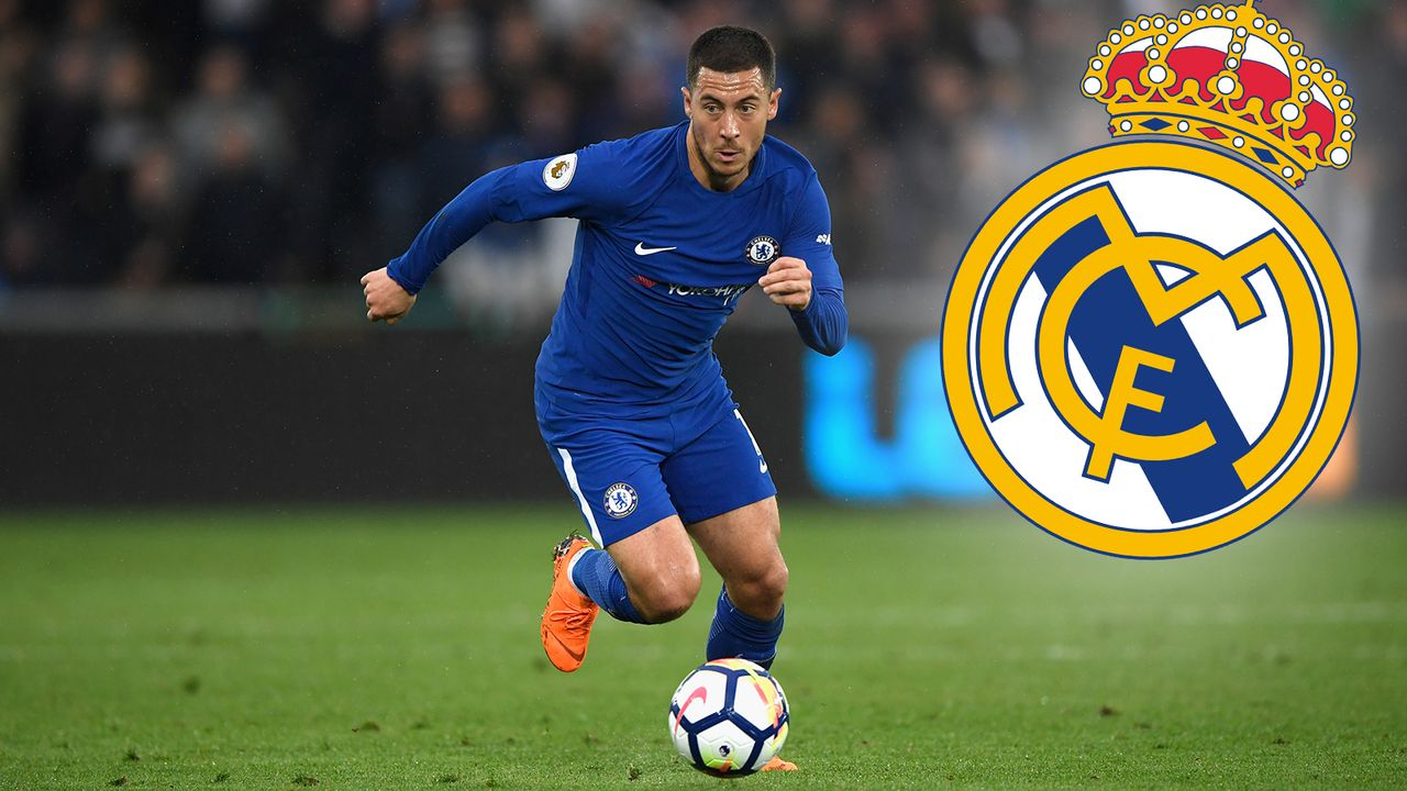 Domino-Szenario 1: Eden Hazard geht zu Real Madrid - Bildquelle: 2018 Getty Images
