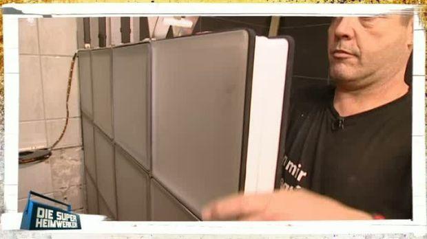Die super heimwerker video profi tipps wand aus - Wand aus glasbausteinen ...