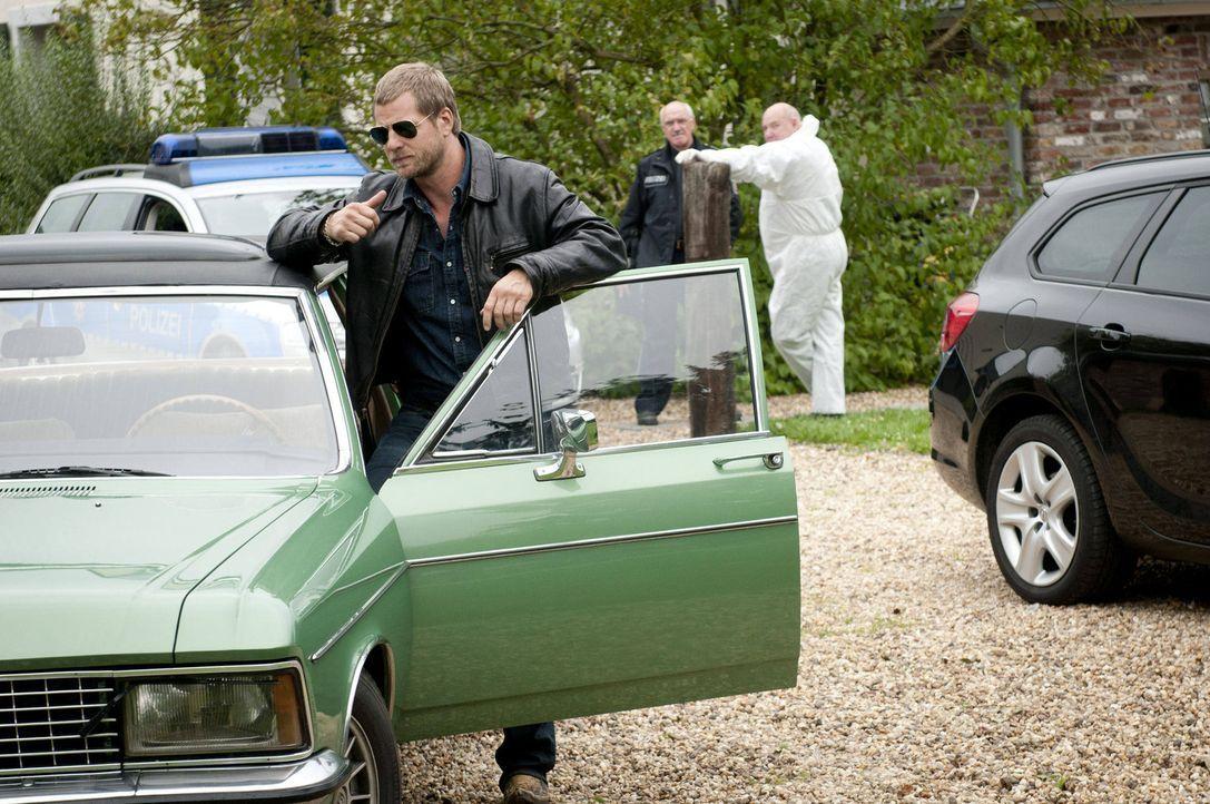 (3. Staffel) - Nach wie vor hält Mick (Henning Baum) nichts von den neuen Ermittlungsmethoden. Er vertraut nur seinen eigenen Regeln ... - Bildquelle: SAT.1