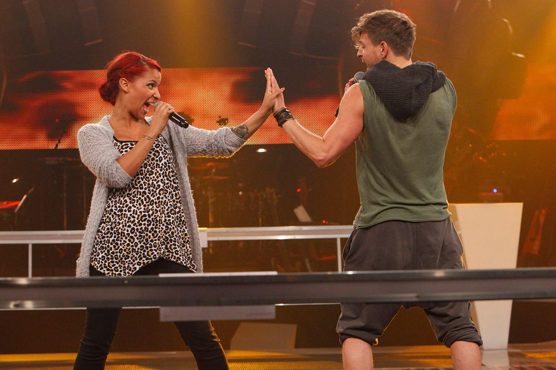 battle-luca-vs-jenna-12-the-voice-of-germany-huebnerjpg 1700 x 1133 - Bildquelle: SAT1/ProSieben/Richard Hübner