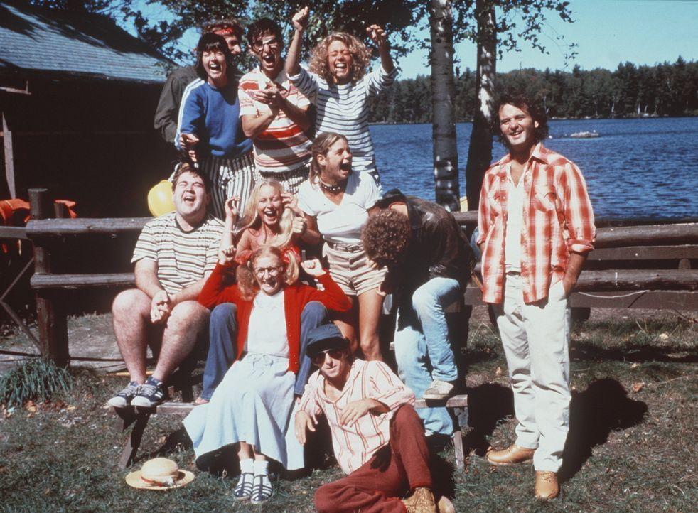 """Bereit für einen wilden Sommer? Die Chaoten von """"Camp North Star"""" gemeinsam mit ihrem Leiter Tripper (Bill Murray, r.) sind gewappnet für einen So..."""