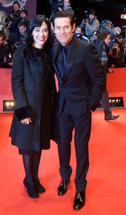 Berlinale-Giada-Colagrande-Willem-Dafoe-14-02-06-AFP - Bildquelle: AFP