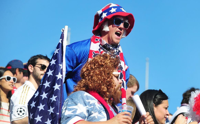 WM-Fussball-Fans-USA-140201-1-AFP - Bildquelle: AFP