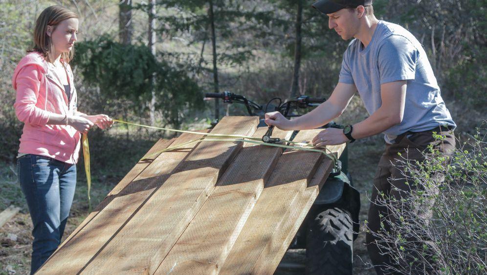 traumhaus in der wildnis eine yurte in montana prosieben maxx. Black Bedroom Furniture Sets. Home Design Ideas