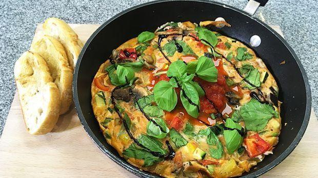 ALt Rezept Omelett