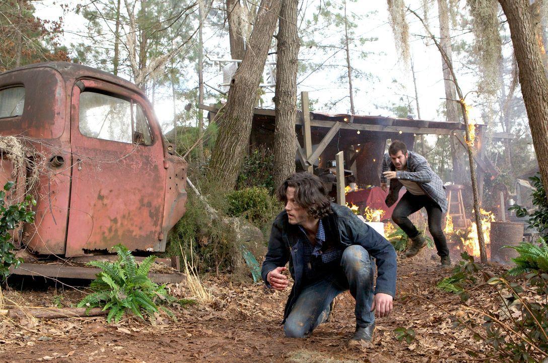 Jackson muss sich ducken - Bildquelle: Warner Bros. Entertainment Inc.