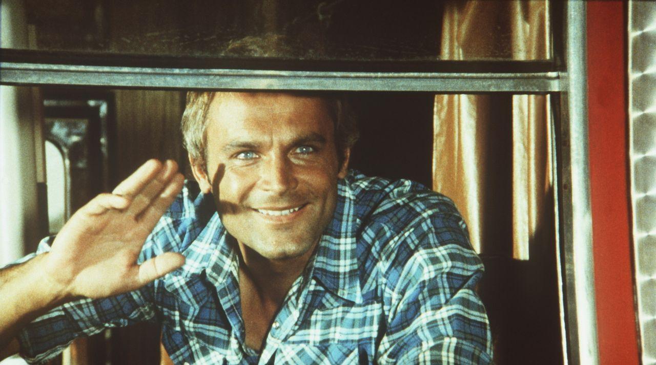 """Terence Hill in """"Zwei wie Pech und Schwefel"""" - Bildquelle: Columbia Pictures"""