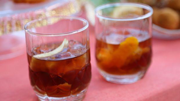 Wer eine kleine Abkühlung braucht, kann bei Giadas Cocktailparty ihren Artich...