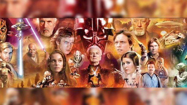 """Mit """"Star Wars"""" begründet George Lucas eine neue Ära des Science-Fi..."""