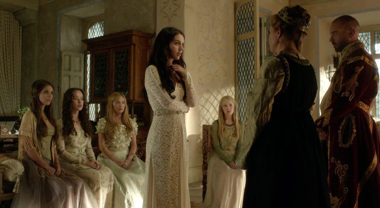 Beim königlichen Empfang - Bildquelle: 2014 The CW Network. All Rights Reserved.