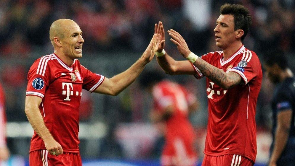 Robben und Mandzukic holten 2013 die Champions League - Bildquelle: FIROFIROSID