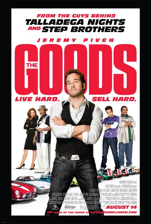 THE GOODS: LIVE HARD, SELL HARD - Plakatmotiv - Bildquelle: by PARAMOUNT VANTAGE, a Division of PARAMOUNT PICTURES. All Rights Reserved.