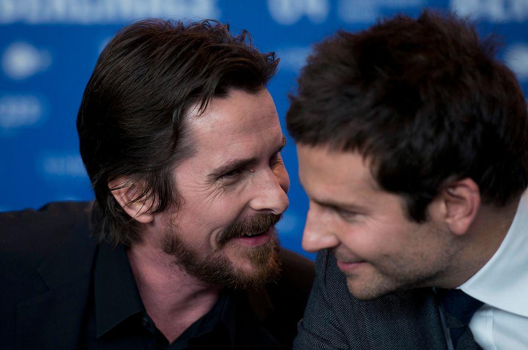 Bradley-Cooper-Christian-Bale-14-02-07-AFP - Bildquelle: Johannes Eisele-AFP