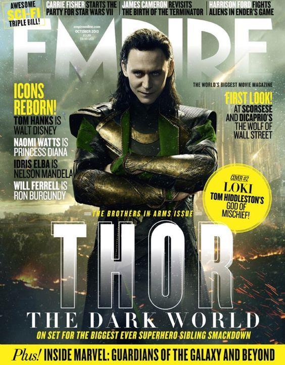 Tom Hiddleston auf dem Empire-Cover - Bildquelle: Marvel/Empire
