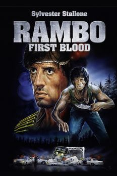 Rambo I - First Blood - Plakatmotiv - Bildquelle: 1982 STUDIOCANAL. All Right...
