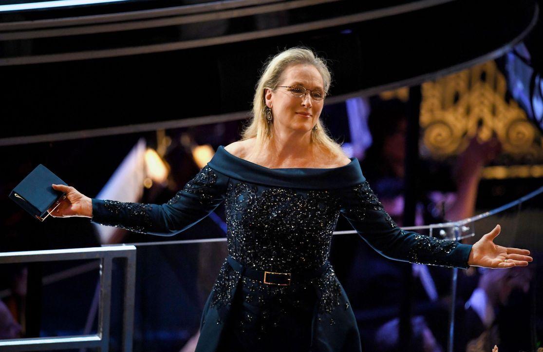 Meryl-Streep-Zuschauerraum-AFP - Bildquelle: Kevin Winter/Getty Images/AFP
