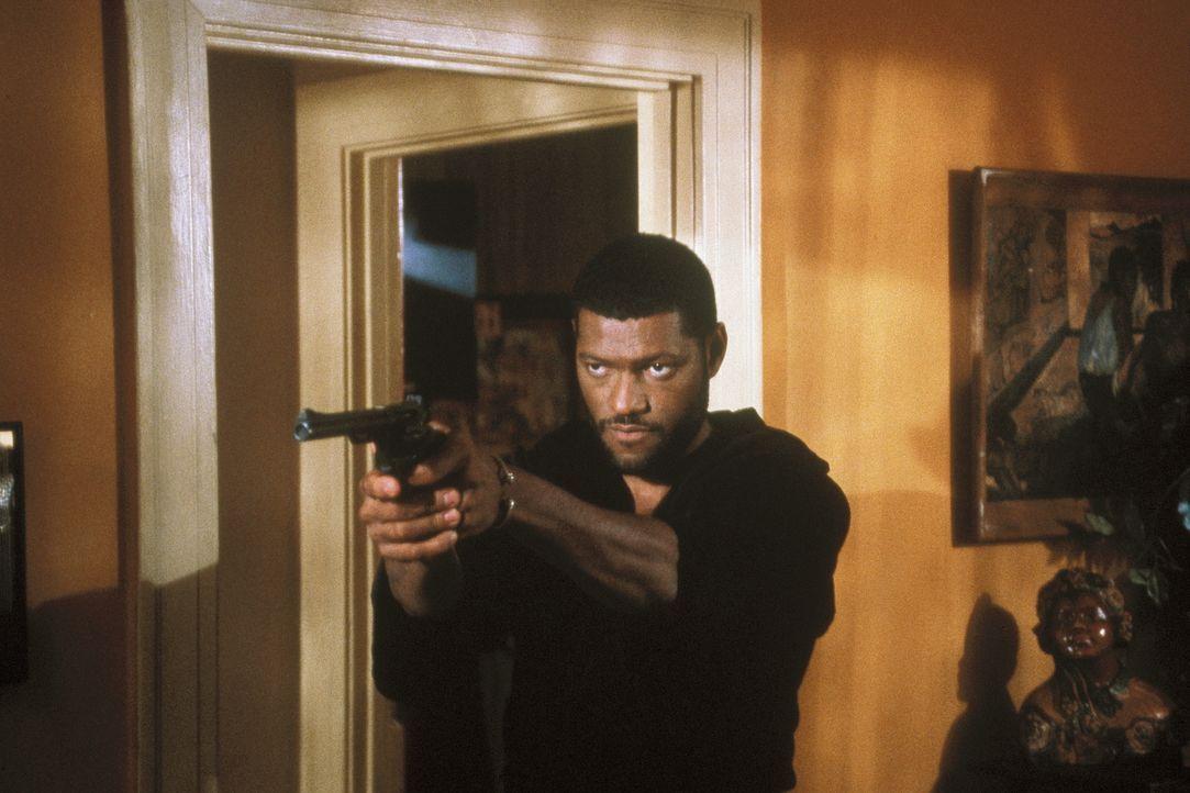 Das Leben im Ghetto von LA, zwischen Gewalt, Rauschgift und Rassismus, ist nicht immer einfach für den jungen Furious Styles (Laurence Fishburne)  .... - Bildquelle: Columbia Pictures