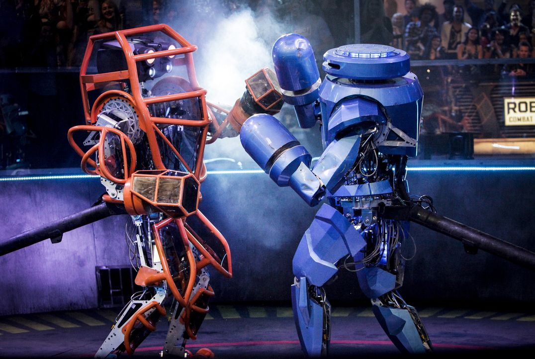 In der Robot Combat League messen sich die Könige der mechanischen Kampf-Kunst. Welches Team wird alle drei Runden in der Arena am besten überstehen?