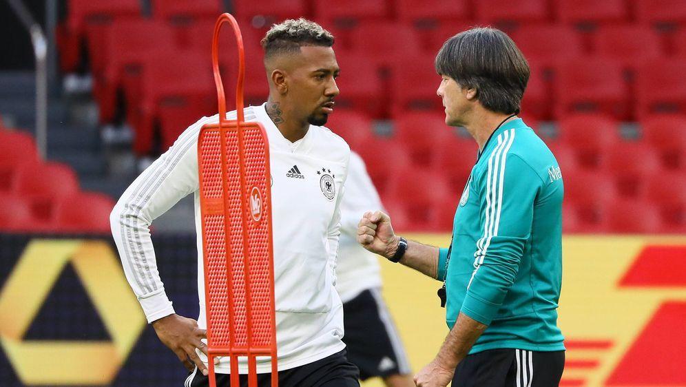 DFB-Team: Joachim Löw plant weiter mit Jerome Boateng - Bildquelle: imago