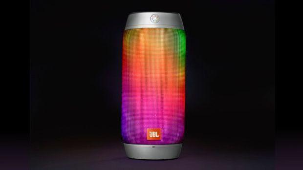 JBL Pulse 2 leuchtet wie ein Regenbogen