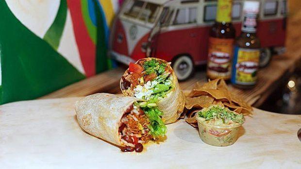 Burrito mit Rindfleisch
