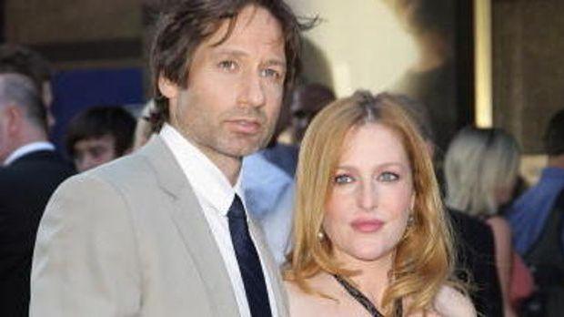 Mulder und Scully auf dem Roten Teppich