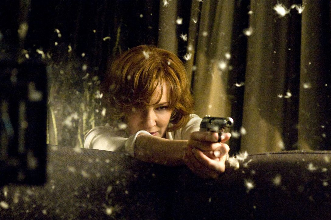 Die eiskalte Geheimdienstlerin - und Hannas Widersacherin, der sie sich stellen muss: CIA-Agentin Marissa Wiegler (Cate Blanchett) ... - Bildquelle: 2011 Focus Features LLC. All Rights Reserved.